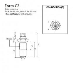 VDO Inductie toeren - snelheid sensor - M18