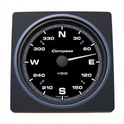 VDO AcquaLink Kompas 110mm Zwart