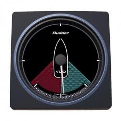 VDO AcquaLink Rudder angle indicator Black 110mm