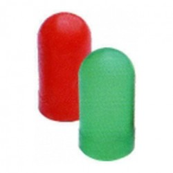VDO Color Caps For T10 Bulb - Set 2x Red - 2x Green