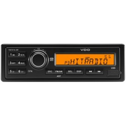Continental 12V Radio RDS USB MP3 WMA Beleuchtung Orange