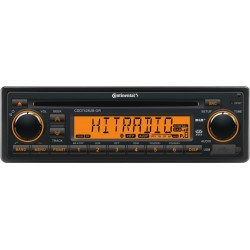 Continental 24V DAB+ Radio-CD RDS USB MP3 WMA Bluetooth Beleuchtung Orange