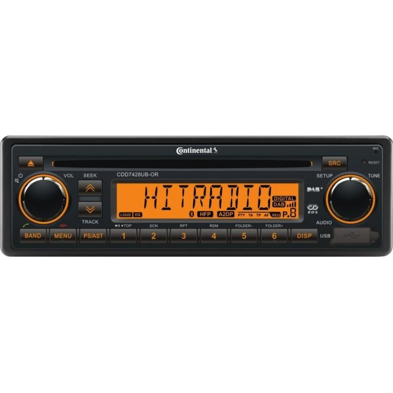 Continental 24 V DAB DAB antenne RDS USB mp3 wma Bluetooth trd7423ub-or Radio