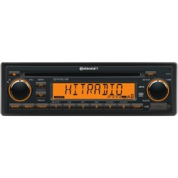 Continental 12V Radio-CD RDS USB MP3 WMA Beleuchtung Orange