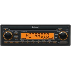 Continental 24V Radio-CD RDS USB MP3 WMA Amber Backlight