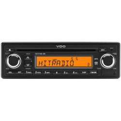 Continental 12V Radio-CD RDS USB MP3 WMA Orange Backlight