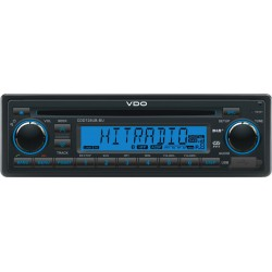 VDO 24V DAB+ Radio-CD RDS USB MP3 WMA Bluetooth Blauw Backlight
