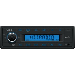 VDO 24V Radio RDS USB MP3 WMA Blue Backlight
