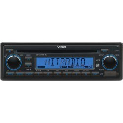 VDO 24V Radio-CD RDS USB MP3 WMA Bluetooth Blauw Backlight