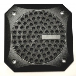 VDO Speaker Gril Square 100mm Black (50 pieces bulk)