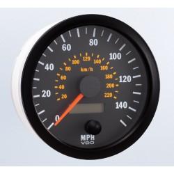 VDO Cockpit Vision Speedometer 140 Mph 100mm 12-24V