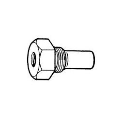 "Sensor adapter M10 x 1 Female - 1/2"" - 14NPT Male"