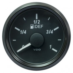 VDO SingleViu 0245 Adblue Level 3-180 Ohm Black 52mm