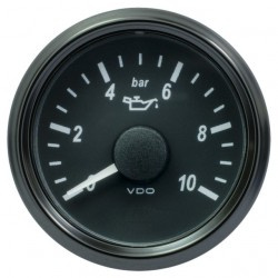 VDO SingleViu 0248 Engine Oil Pressure 10Bar Black 52mm