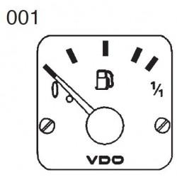 VDO Modulcockpit II - 1 Unit Module - Kraftsoff Hebelgeber - 12-24V
