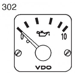 VDO Modulcockpit II - 1 Unit Module - Engine oil 10 Bar - 12-24V