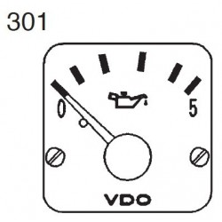 VDO Modulcockpit II - 1 Unit Module - Engine oil 5 Bar - 12-24V