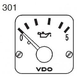 VDO Modulcockpit II - 1 Unit Module - Motoröl 5 Bar - 12-24V