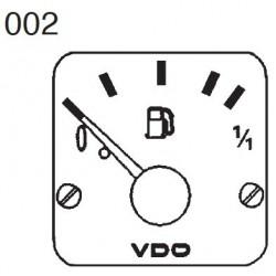 VDO Modulcockpit II - 1 Unit Module - Fuel level tubular - 12-24V