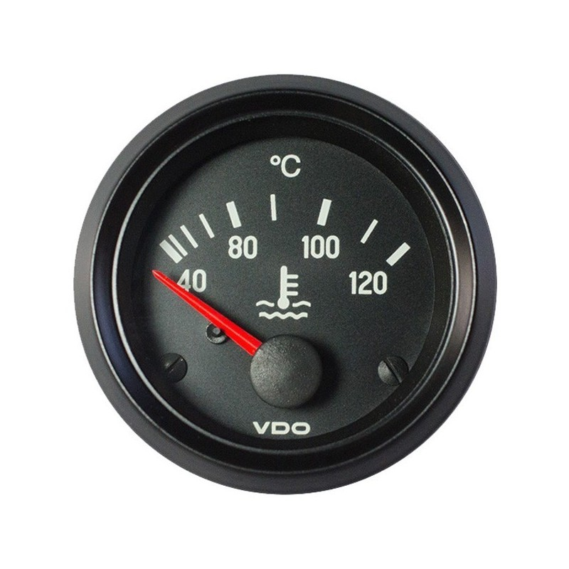 10 Stuks VDO Cockpit International Koelwatertemperatuur 120°C 52mm 12V