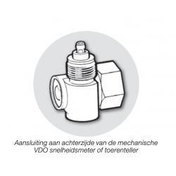 Continental VDO Haakse Aandrijving 1 Op 1 - Schroefdraad M18x1.5
