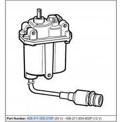Continental VDO E-Gas II Electronic Actuator - 24 Volt - 7-Pins Connector
