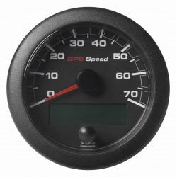 Veratron VDO OceanLink GPS - SOG Speedometer 0-70 kn Black 85 mm