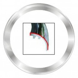 VDO ViewLine 110mm Bezel Round Chrome