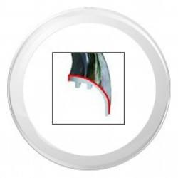 VDO ViewLine 110mm Bezel Round White