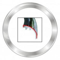 VDO ViewLine 52mm Bezel Round Chrome