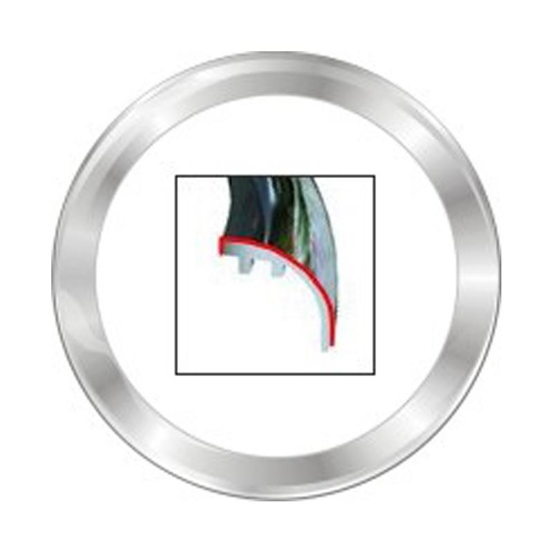 VDO ViewLine 52mm Frontring Rond Chroom