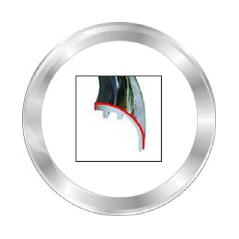VDO ViewLine 85mm Frontring Rond Chroom