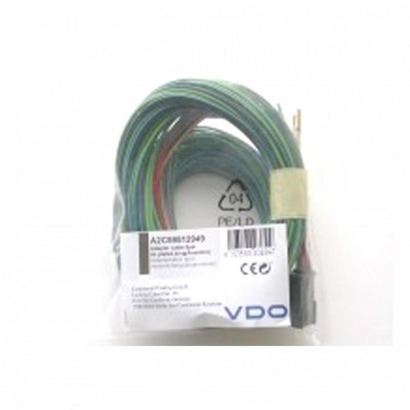 VDO ViewLine Ampèremeter Adapterkabel 8-polig