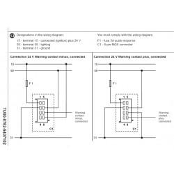 VDO ViewLine Voltmeter 18-32V White 52 mm