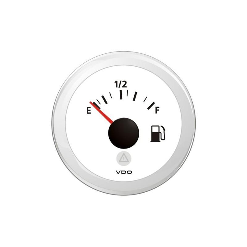 VDO ViewLine Fuel Level 240-33 Ohm White 52mmVDO Webshop