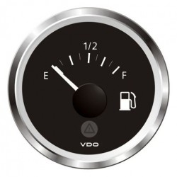 VDO ViewLine Fuel Level 90-0.5 Ohm* Black 52mm