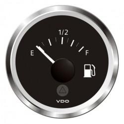 VDO ViewLine Fuel Level 3-180 Ohm Black 52mm