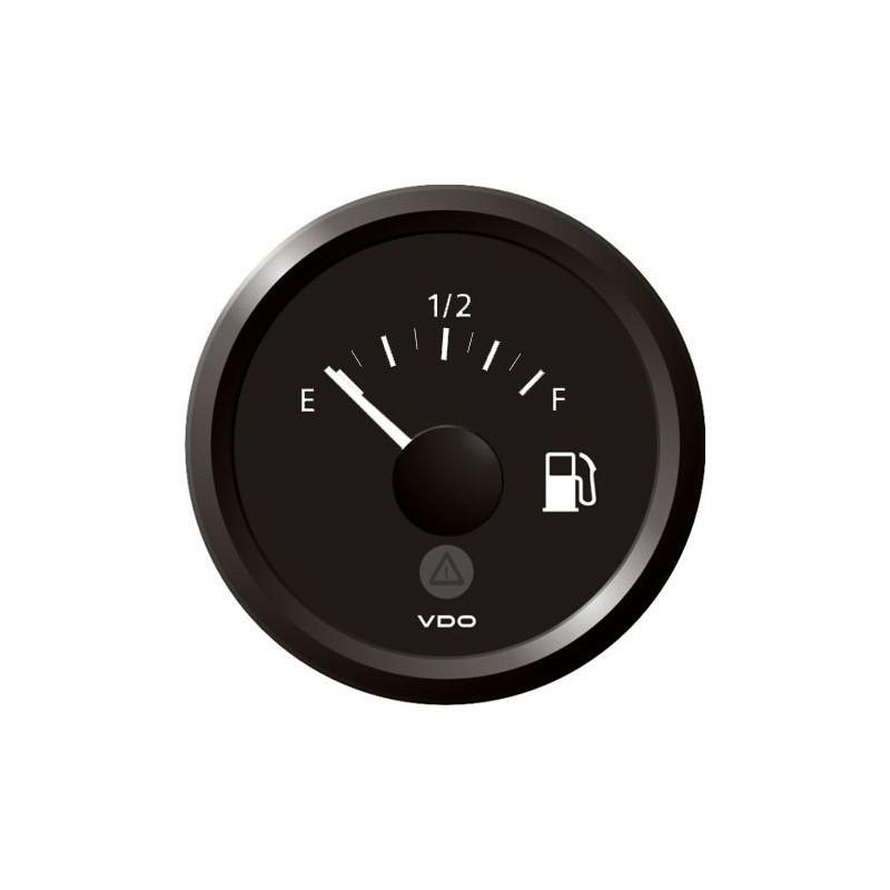 VDO ViewLine Fuel Level 240-33 Ohm Black 52mmVDO Webshop