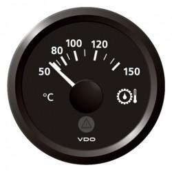 VDO ViewLine Getriebe Öltemperatur 150°C Schwarz 52mm
