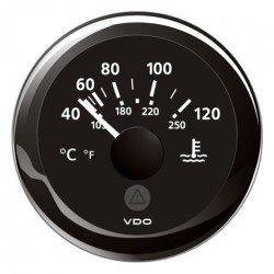 VDO ViewLine Coolant Temperature 120°C Black 52mm