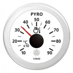VDO ViewLine Pyrometer 900°C Wit 52mm