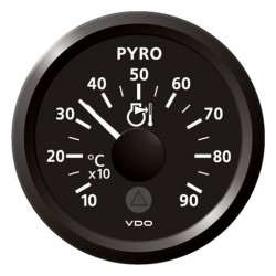 VDO ViewLine Pyrometer 900°C Black 52mm