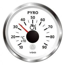 VDO ViewLine Pyrometer 900°C Wit 52mm