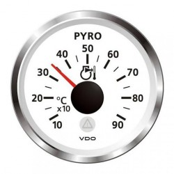 VDO ViewLine Pyrometer Kit 900°C White 52mm