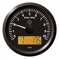VDO ViewLine Drehzahlmesser 10.000 RPM Schwarz 85mm