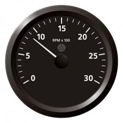 VDO ViewLine Toerenteller 3.000 RPM Zwart 110mm