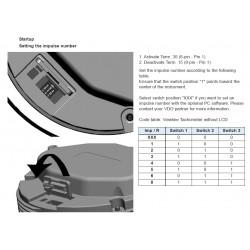 VDO ViewLine Drehzahlmesser 3.000 RPM Schwarz 110mm