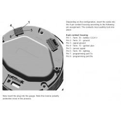 VDO ViewLine Drehzahlmesser 10.000 RPM Schwarz 110mm