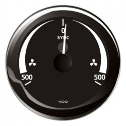 VDO ViewLine Tacho Synchro Indicator Black 85mm