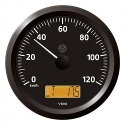 VDO ViewLine Snelheidsmeter 120 Km/h Zwart 110mm